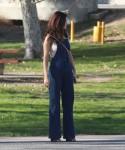 Selena Gomez at Lake Balboa park in Encino 02/02/201850a55f737638153