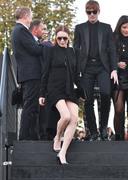 Lindsay Lohan - Saint Laurent Fashion Show in Paris 9/25/2018 a3e24a985773574
