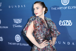 Lily Collins - The Art of Elysium's 12th Annual Celebration in LA 1/5/19