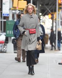 Elsa Hosk - Out in NYC 3/14/18
