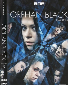 Orphan Black - Stagione 3 (2013 - 2017) 3xDVD9 COPIA 1:1 ITA ENG