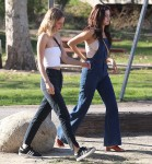 Selena Gomez at Lake Balboa park in Encino 02/02/201807ebdc737637753