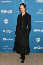 Hilary Swank - ''I Am Mother'' premiere at The Sundance Film Festival in Park City, Utah 1/25/19