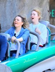 Emma Stone - At Disneyland in Anaheim 2/16/18