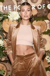 Hailey Baldwin - Bare Minerals Clean Beauty Ambassador in NYC 9/13/18