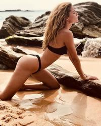 Doutzen Kroes - Instagram, bikini 4/23/2018