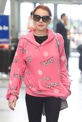 Lindsay Lohan - At JFK Airport 5/5/18