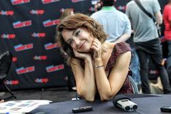 Milana Vayntrub at New York Comic Con in New York City - 10/6/18