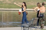Selena Gomez at Lake Balboa park in Encino 02/02/2018568140737644213