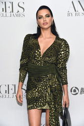"Adriana Lima - ""ANGELS"" By Russell James Book Launch And Exhibit in NYC 9/6/18"