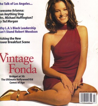Bridget Fonda: Early 90's Mag Cover x 1