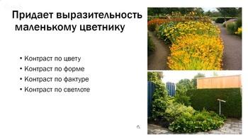 Маленькие цветники (2017) Видеокурс