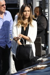 Jessica Alba - Going to a meeting in LA 5/23/18
