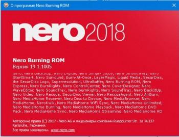 Nero Platinum 2018 Suite 19.0.07300 Full (RUS/ENG) RePack + Content Pack