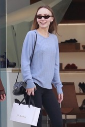 Lily-Rose Depp - Shopping in West Hollywood 1/26/19