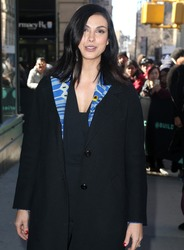 Morena Baccarin - Outside AOL BUILD Studios in NYC 3/26/19
