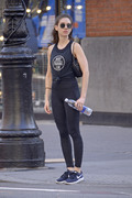 Alison Brie - Going to the gym in NYC 6/19/18