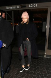 Chloe Grace Moretz - At LAX Airport 1/11/18