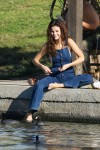 Selena Gomez at Lake Balboa park in Encino 02/02/2018c64315737638923