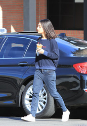 Mila Kunis - Out in Studio City 11/27/18