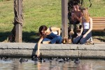 Selena Gomez at Lake Balboa park in Encino 02/02/201870b19f737644353