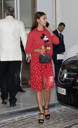 Irina Shayk - Leaving her hotel in Cannes 5/10/18
