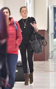 Amber Heard - At LAX Airport 1/6/19