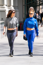 Jennifer Lopez - Going to the gym in NYC 3/28/19