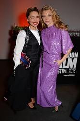 Emilia Clarke - at Persol & BFI London Film Festival Awards Party 10/20/2018
