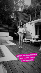 Ashley Tisdale Jumping Rope - 5/5/18 Instagram Video