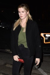 Ireland Baldwin - Out for dinner in West Hollywood 1/28/19