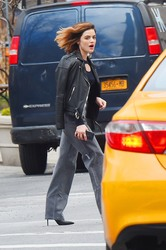 Lucy Hale - Out in NYC 3/5/18