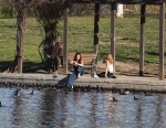 Selena Gomez at Lake Balboa park in Encino 02/02/201800090a737644843