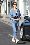 Emmy Rossum - Shopping in West Hollywood 5/17/18