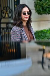Nina Dobrev - Leaving her hotel in Paris 3/2/19