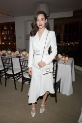 Emmy Rossum - Stuart Weitzman and InStyle's Celebration of the Flagship Boutique Opening in West Hollywood 1/19/18