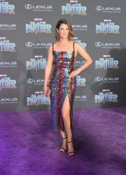 Cobie Smulders - Premiere Of Disney And Marvel's 'Black Panther' in Hollywood 1/29/18