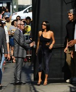 Kim Kardashian - Arriving at Jimmy Kimmel Live in Hollywood 7/30/18