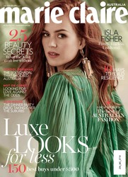 Isla Fisher -                                Marie Claire Magazine (Australia) July 2018.