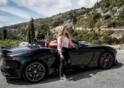 Natalie Dormer -        Jaguar Drive Nice To Monaco May 9th 2019.