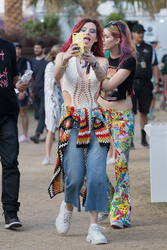 Bella Thorne - 2018 Coachella Festival 4/21/18