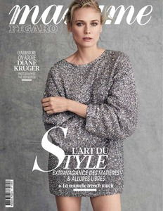 Diane Kruger -       Madame Figaro Magazine (France) March 29th 2019.