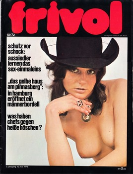Frivol � 10,13 1972 [All Sex] [1972, ��������, JPG]