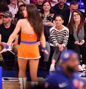 Katie Holmes -          Wizards/Knicks Game Madison Square Garden New York City April 7th 2019.