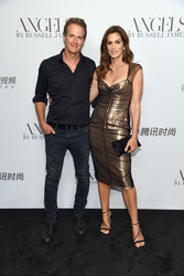 "Cindy Crawford -  ""ANGELS"" By Russell James Book Launch And Exhibit in NYC 9/6/18"