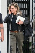 Jennifer Aniston - Leaving a salon in Beverly Hills 4/5/18