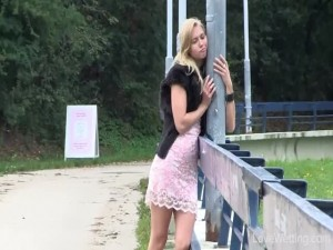 Pissing Video - 7 Violeta - A Wasted Student
