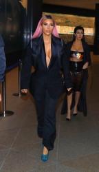 Kim Kardashian - Out for dinner in Tokyo 2/28/18