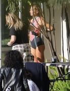 Hailey Baldwin - Wearing a bikini on set of a photoshoot in LA 12/4/2018 ebd7c51053696624