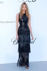Martha Hunt - amfaR 25th Cinema Against AIDS Gala in Cannes 5/17/18